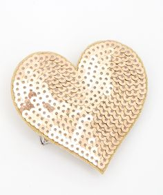 definitely need the mini ban.do heart.  I mean, seriously.  A heart made out of sequins.