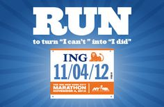 """""""Turn 'I can't' into 'I did.'"""" #chills #INGNYCM"""