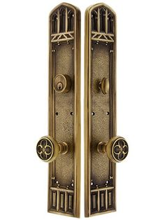 Oxford Entry Door Set With Oxford Knobs