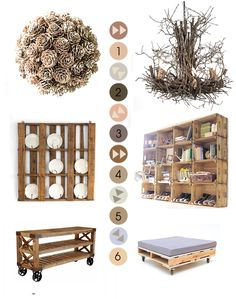 love the pine cone ball idea. not sure where to put it????