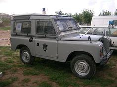 Land Rover Santana Policia Nacional