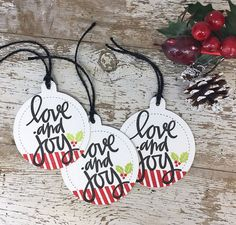 A very craft holiday...gift tags! | Soapbox Creations | Bloglovin'