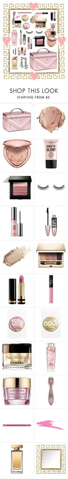 """#PolyPresents: Sparkly Beauty 💖⭐️"" by denizatay9 ❤ liked on Polyvore featuring beauty, Victoria's Secret, Stila, Too Faced Cosmetics, NYX, Bobbi Brown Cosmetics, Battington, Urban Decay, Maybelline and Chantecaille"
