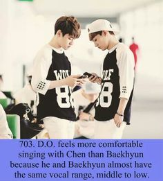 exo facts #kyungsoo #chen #baekhyun