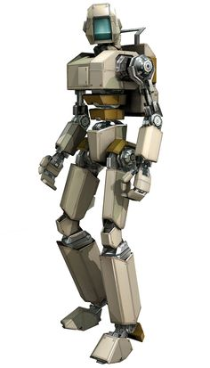 Concept Robot Art - Binary Domain Art Gallery