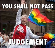 Funny pictures about Gandalf at his best. So fabulous. Oh, and cool pics about Gandalf at his best. So fabulous. Also, Gandalf at his best. So fabulous. Sir Ian Mckellen, You Shall Not Pass, Sir Anthony Hopkins, Gandalf, Aragorn, All Family, Atheist, Gay Pride, Make Me Smile