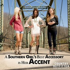 Southern quotes.  Southern accent. ❤  http://www.countryoutfitter.com/eight-second-angel