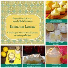 Invitaciones Fiestas Verano Recetas Limones LaBelleCarte