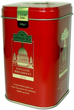 Ahmad Tea, English Breakfast Tea, Ceylon Cinnamon, Tea Tins, Fun Cup, Tea Cup Saucer, Vintage Tea, Coffee Cans, Metal Box