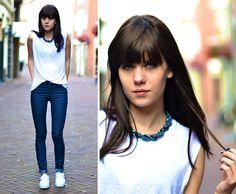Blue Jeans (by Lucy De B.) http://lookbook.nu/look/3756901-Blue-Jeans