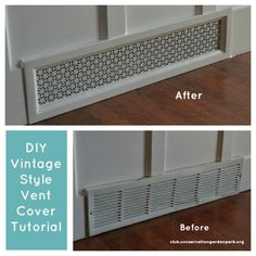 "Pinspiration: DIY ""Vintage"" Air Vent Covers - Jordan Valley Home & Garden Club"