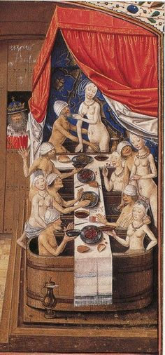 Communal Bathing in the Middle Ages