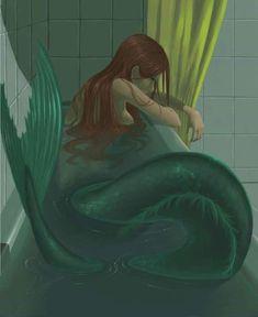 new Ideas for drawing mermaid sirens ariel Anime Mermaid, Siren Mermaid, Mermaid Art, Tattoo Mermaid, Vintage Mermaid, Fantasy Mermaids, Mermaids And Mermen, Mermaid Drawings, Art Drawings