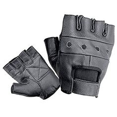 Amazon.com: First Manufacturing Lightweight Fingerless Gloves (Black, Medium): Automotive