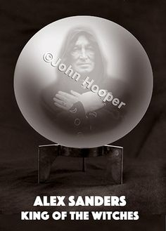 Alex Sanders. Book Cover.
