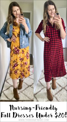 ae9ac3778febe8 My Latest Fall Buys Under  20 at Walmart  Midi Dresses