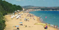 Obzor Bulgaria beach