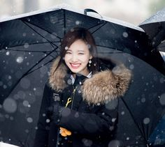 Korea Wallpaper, Nayeon Twice, Im Nayeon, Suits You, Bomber Jacket, Snow, Kpop Outfits, Coat, Bunny