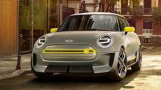 Translating the brand's iconic design for an emission-free future, the Mini Electric Concept makes subtle yet important tweaks to the classic silhouette. Its grille retains its hexagonal shape but is closed off to improve aerodynamics, while the circular Best Electric Car, E Electric, Electric Vehicle, Audi A7, Jaguar Xj, Camaro Rs, Coming Out, Porsche Mission E, Cars