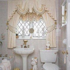 50 Beautiful Home Curtain Designs Ideas. Bathroom Window ...