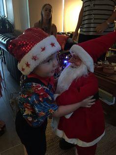 Melt my heart boy in Santa Shirt