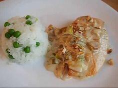 Pechuga de pollo al Brandy facil - Recetas - Y hoy qué comemos