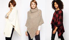 Sweater Guide: Fall/Winter Essentials - Ponchos
