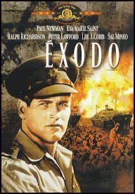 Éxodo (1960) EEUU. Dir.: Otto Preminger. Drama. Relixión. Cine épico. Nacemento de Israel - DVD CINE 1482
