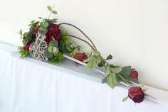Kompozycja kwiatowa z różami