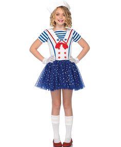 Resultado de imagen para disfraz de marinera para niña