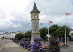 Exmouth Clock Tower, UK. Scene of memorable argument when i was 15.