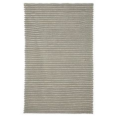 Tonal Texture Rug, Silver/Ivory
