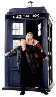 Dr. Who. Been hearing about this for years and now my daughter's made me watch a couple episodes. I'm very embarrassed but it's kind of good, you never forget your first doctor, as they say. Billie Piper is cute!