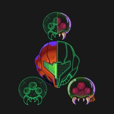 Metroid by maxman58.deviantart.com on @DeviantArt