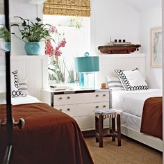 The Vintique Object: Twin Beds for the Guest Room?