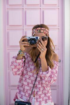 Cute boho look: http