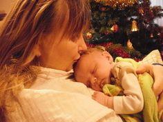 Pyšná babička když byla Kačenka ještě písklátko :)