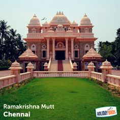 Ramakrishna Math is a monastic organization for men brought into existence by Sri Ramakrishna (1836-1886), the great 19th century saint of Bengal. #Chennai #Travel #Explore