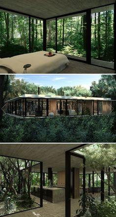 This is how Lothlórien would look like in today's world. Gres House, Luciano Kruk. Itauna, Brasil. (images by Luciano Kruk)