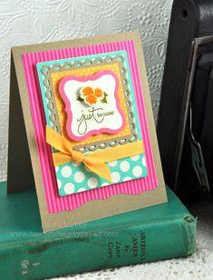 Just Because Card by Dawn McVey for Papertrey Ink (July 2012)