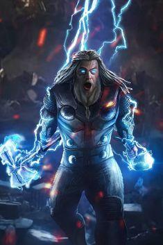 Thor (end game) avengers marvel comics, marvel avengers, mar Marvel Dc Comics, Marvel Avengers, Marvel Fanart, Films Marvel, Marvel Characters, Marvel Cinematic, All Marvel Heroes, Iron Man Avengers, Die Rächer