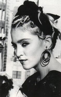 Madonna! What fun music...she made you want to dance all day. She oozed originality and fun