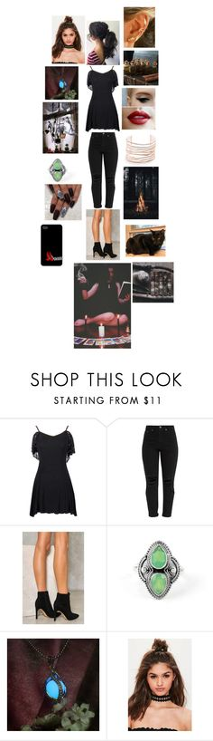 """The supernatural -  Dark Witch"" by rosemarieyoung ❤ liked on Polyvore featuring beauty, Nasty Gal, Missguided and Alexis Bittar"