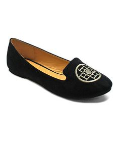 Look what I found on #zulily! Black Star Loafer by Betani #zulilyfinds