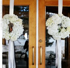 Ceremony doors