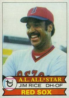 Welcome to Planet Earth Toys ( Very Cheap Combined Shipping rates on all Trading Cards. ) for your consideration today is this vintage Trading Ca Baseball Classic, Baseball Star, Mlb Players, Baseball Players, Baseball Card Values, Baseball Cards, Jim Rice, Star Trek Posters, Old Cards