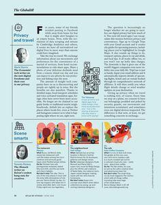 Atlas Magazine Page Layouts, Magazine Layout Design, Print Layout, Web Layout, Editorial Layout, Editorial Design, Newsletter Layout, Placemat Design, Magazin Design