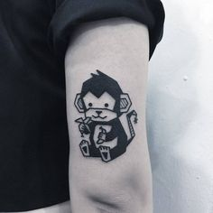1eb13ec80 223 Best monkey tattoos images in 2019   Monkey tattoos, Tatoos, Monkey