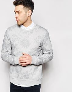 Ted Baker Sweatshirt with Floral Print