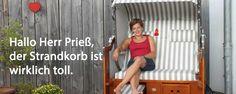 Strandkorb gekauft - super nettes Kundenfoto von einer Kundin Super, Pictures, North Sea
